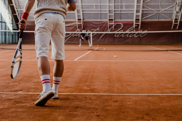 Wind plays an important role in the game of tennis.